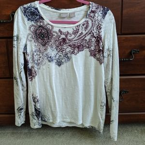 Chico's women's long sleeve top